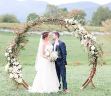 round wedding arch NYC | Circle Wedding Arch NEw Jersey